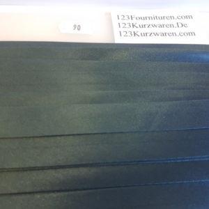 Biaisband Satijn Donker Jeans Blauw 90