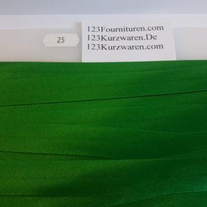 Biaisband Satijn Fel Groen 25