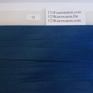 Biaisband Satijn Jeans Blauw 13