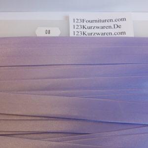Biaisband Satijn Lavendel 08