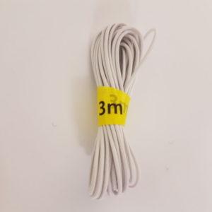 Hoedenelastiek 3 meter