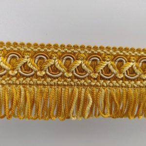 Franje geel goud met bandje